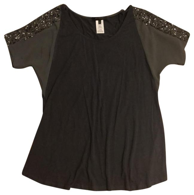 Preload https://item2.tradesy.com/images/miss-me-two-shades-of-gray-sequins-and-beads-tunic-size-12-l-23243016-0-1.jpg?width=400&height=650