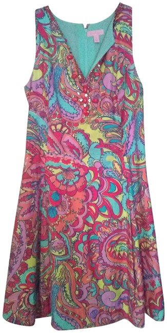 Preload https://img-static.tradesy.com/item/23243023/lilly-pulitzer-multicolored-2014-short-casual-dress-size-6-s-0-2-650-650.jpg