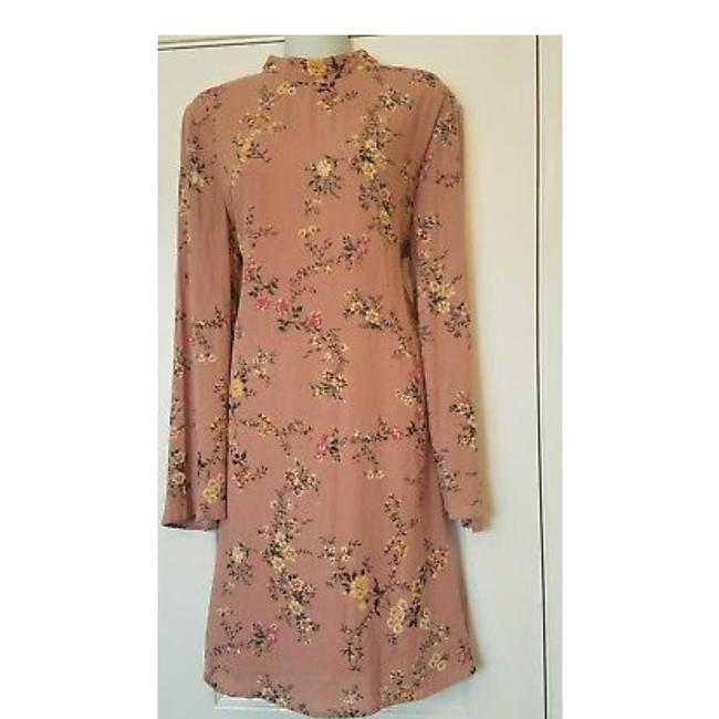 Preload https://item3.tradesy.com/images/love-fire-floral-bell-sleeve-skater-mid-length-short-casual-dress-size-12-l-23243027-0-2.jpg?width=400&height=650