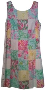 Lilly Pulitzer short dress Multicolored Preppy Classic Shift Shift on Tradesy