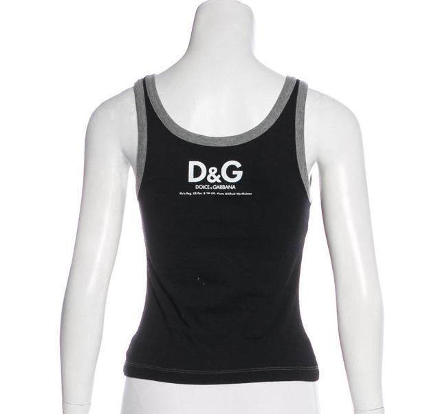 Dolce&Gabbana D&g Elvis Top Gray