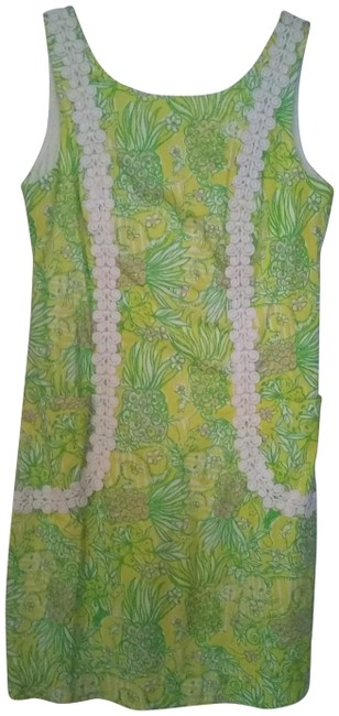Preload https://img-static.tradesy.com/item/23243054/lilly-pulitzer-yellow-and-green-short-casual-dress-size-4-s-0-1-650-650.jpg