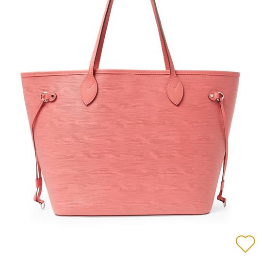 Preload https://item1.tradesy.com/images/louis-vuitton-never-full-mm-rose-pink-collection-color-leather-tote-23243060-0-0.jpg?width=440&height=440