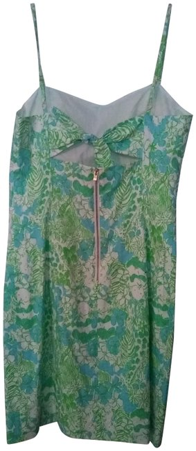 Preload https://img-static.tradesy.com/item/23243075/lilly-pulitzer-blue-and-green-short-casual-dress-size-4-s-0-1-650-650.jpg