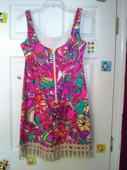 Lilly Pulitzer short dress Multicolor Shift Shift Classic Preppy on Tradesy