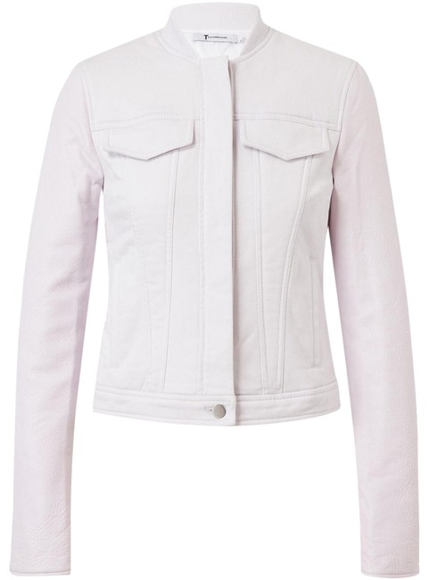Preload https://item4.tradesy.com/images/t-by-alexander-wang-pastel-cropped-lamb-leather-and-denim-jacket-size-12-l-23243108-0-1.jpg?width=400&height=650