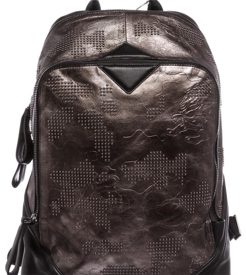 Preload https://item3.tradesy.com/images/mcm-studded-stencil-lion-gunmetal-leather-backpack-23243127-0-1.jpg?width=440&height=440