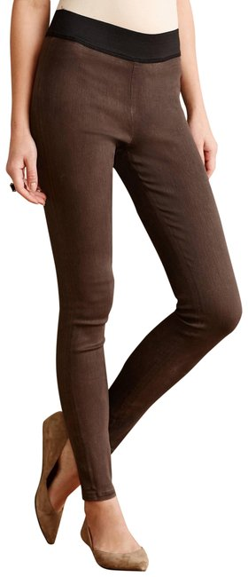Preload https://item4.tradesy.com/images/citizens-of-humanity-brown-coated-leggings-skinny-jeans-size-30-6-m-23243173-0-1.jpg?width=400&height=650