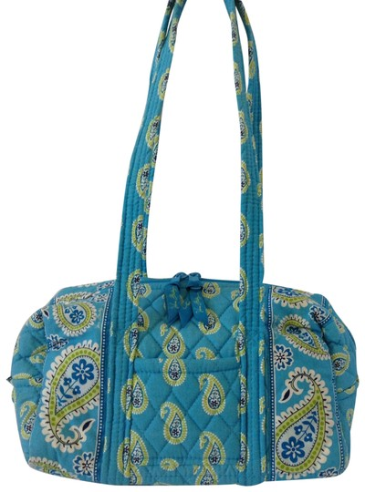 Preload https://img-static.tradesy.com/item/23243191/vera-bradley-blue-multicolor-canvas-shoulder-bag-0-1-540-540.jpg