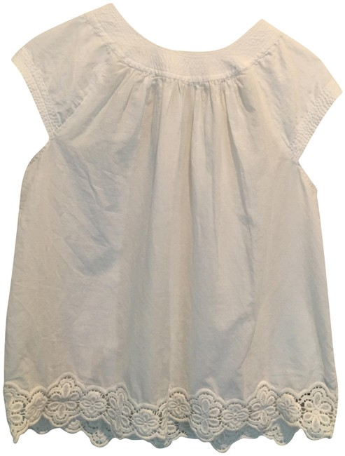 Preload https://item1.tradesy.com/images/madewell-white-eyelet-hem-stitched-peasant-style-b8699-blouse-size-0-xs-23243225-0-3.jpg?width=400&height=650