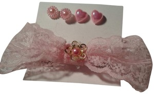 Other Hair clip and earrings jewelry set plastic earrings