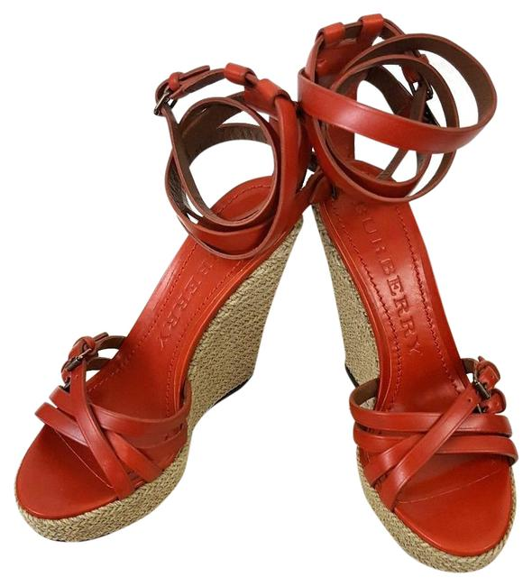 Item - Tangerine Devon Bridle Sandals Wedges Size US 9 Regular (M, B)