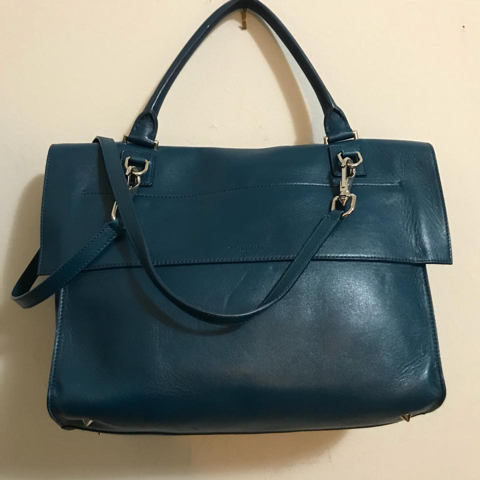 Teal Cross Givenchy Bag Body Leather Tote Shark Blue Tooth 1wStqxpS6