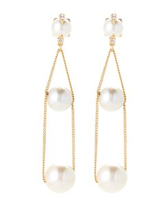 Vince Camuto VINCE CAMUTO Chain Faux Pearl Earrings
