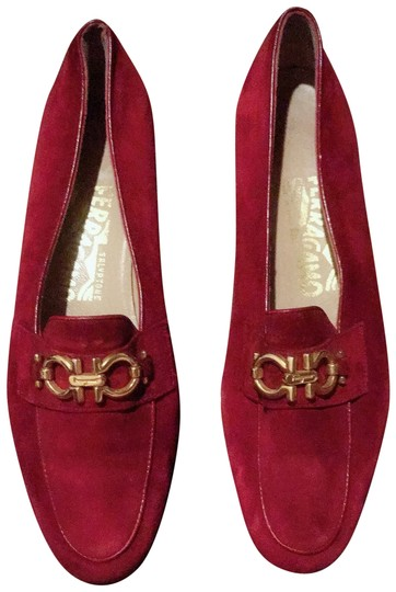 Preload https://img-static.tradesy.com/item/23243428/salvatore-ferragamo-red-women-s-loafer-mulesslides-size-us-65-regular-m-b-0-2-540-540.jpg