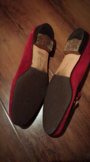 Salvatore Ferragamo Red Mules