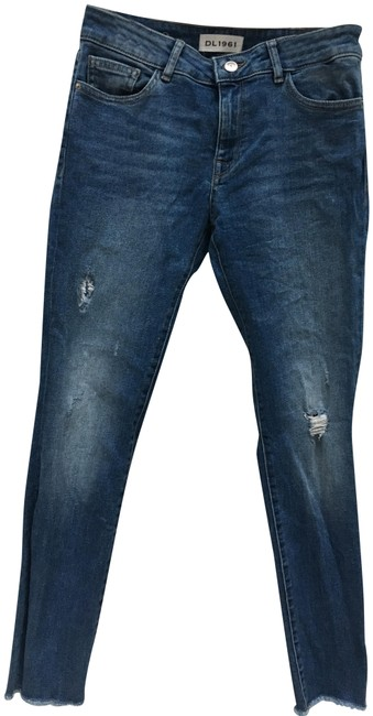 DL1961 Skinny Jeans-Distressed