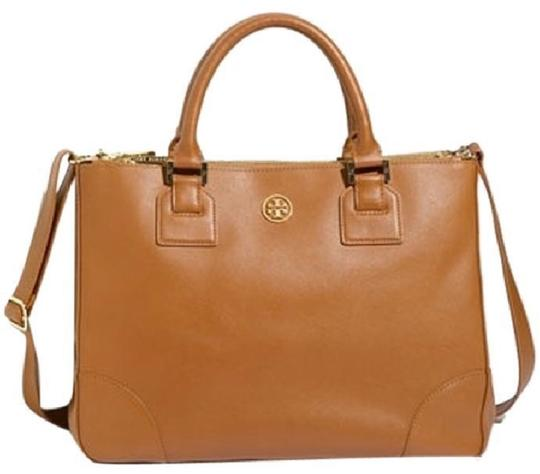 Preload https://img-static.tradesy.com/item/23243464/tory-burch-robinson-double-zip-brown-leather-tote-0-0-540-540.jpg