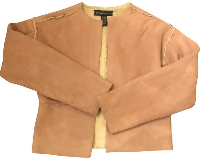 Item - Tan Faux Jacket Coat Size 0 (XS)