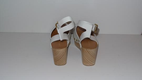 Céline WHITE Wedges