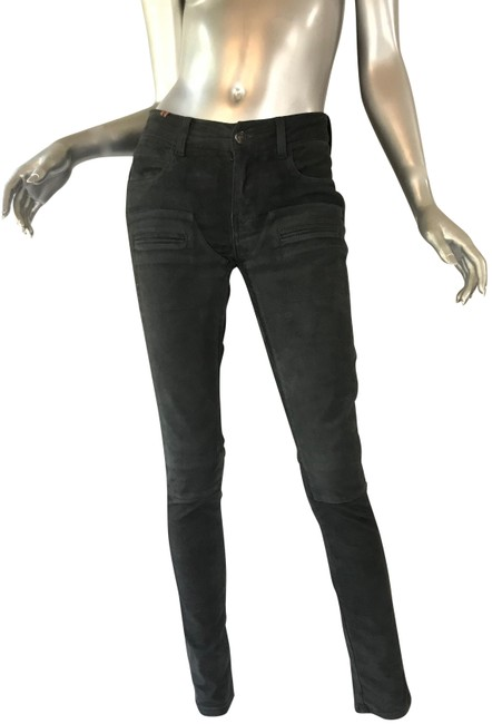 Preload https://img-static.tradesy.com/item/23243560/gray-leather-skinny-pants-size-6-s-28-0-3-650-650.jpg