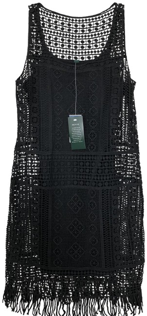 Preload https://img-static.tradesy.com/item/23243584/lauren-ralph-lauren-black-boho-short-casual-dress-size-petite-2-xs-0-1-650-650.jpg