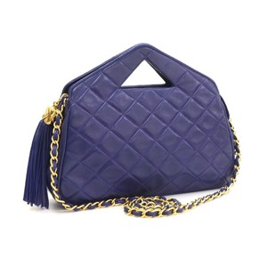 Chanel Vintage Mini Quilted Clutch Wristlet Shoulder Bag