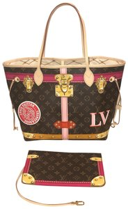 Louis Vuitton Neverfull Trunks 2018 Trunk Collection Limited Edition Trunk Neverfull Tote in Monogram