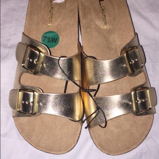 CL by Chinese Laundry Gold Sandals
