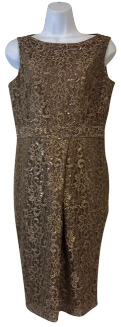 Preload https://img-static.tradesy.com/item/23243695/jones-new-york-brown-lace-mid-length-night-out-dress-size-4-s-0-2-650-650.jpg