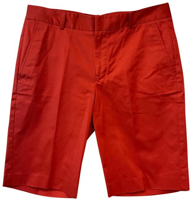 Item - Red Orange Golf Cotton Blend Shorts Size 10 (M, 31)