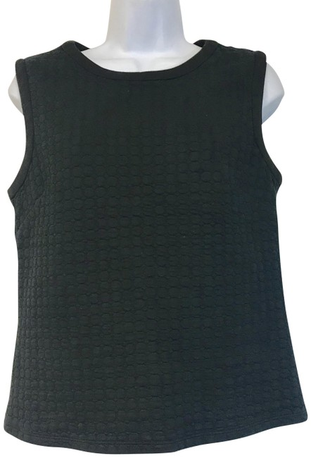 Preload https://img-static.tradesy.com/item/23243725/laundry-by-shelli-segal-black-sleeveless-embossed-blouse-size-8-m-0-2-650-650.jpg