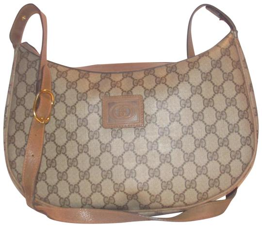 Gucci Crossbody/Shoulder Excellent Vintage Xl Style High-end Bohemian Classic Style Hobo Bag