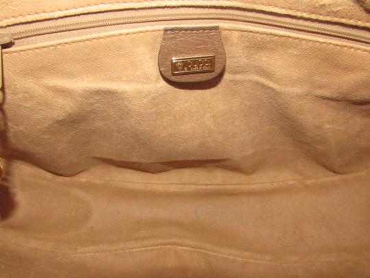 Gucci Crossbody/Shoulder Excellent Vintage Cc/Leather Early Xl Hobo Bag