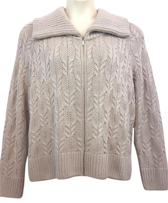 Preload https://img-static.tradesy.com/item/23243747/st-john-orchid-yellow-label-thick-knit-blush-jacket-xl-cardigan-size-16-xl-plus-0x-0-1-650-650.jpg
