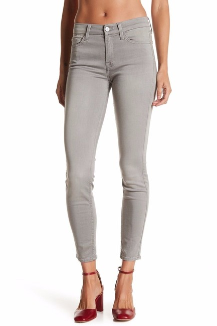 7 For All Mankind Tight Straight Casual Skinny Jeans