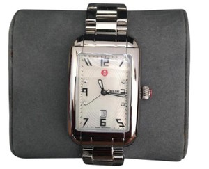 Michele Silver Milou Park Mother-of-pearl Womens Mww15c000044 Watch