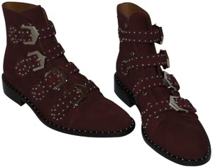 Givenchy BURGUNDY Boots