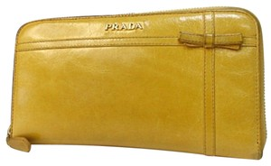 Prada PRADA MILANO Zippy Long Continental Wallet Purse