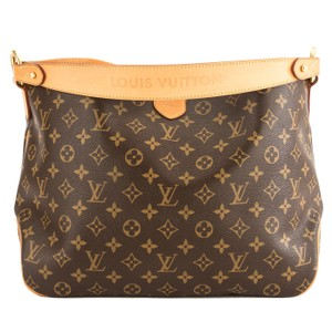 ff3ad60efd23 Louis Vuitton Tote in Brown. Louis Vuitton Delightful Canvas Pm Pre Owned Brown  Monogram Tote