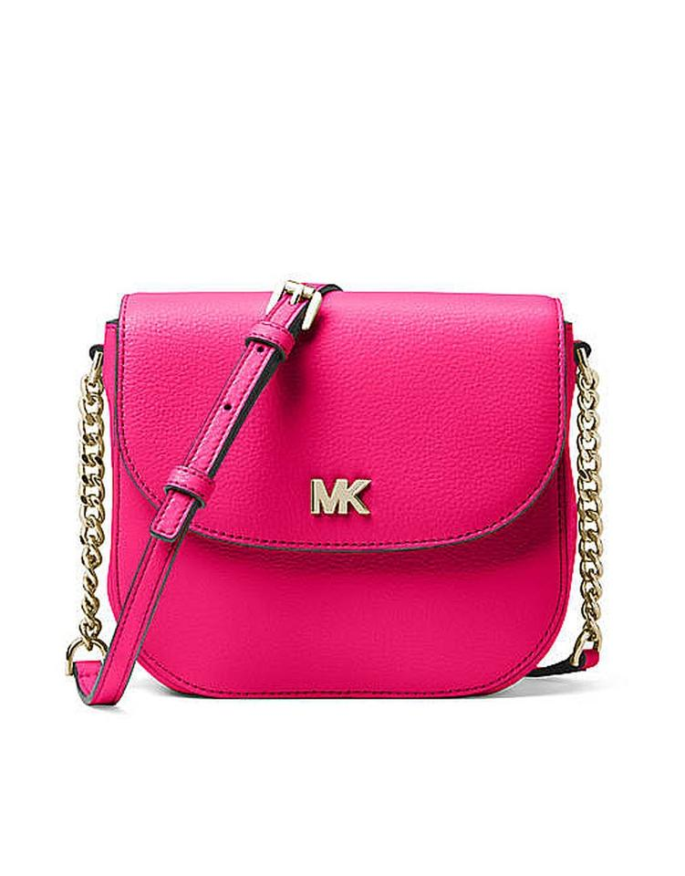 8447e33f714a Michael Kors Leather Satchel Dusty Rose 35f7gbdt1l Tote in ultra pink Image  0 ...