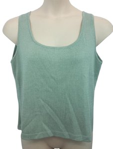 St. John Knit Top Seagrass Green