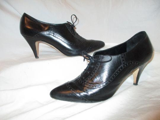 Brooks Brothers Leather Oxford black Pumps