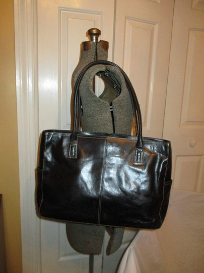 Fossil Tote Leather Laptop Bag