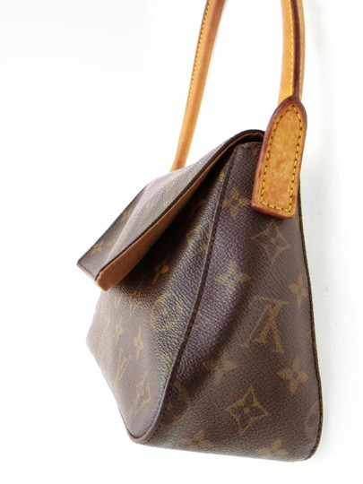 Louis Vuitton Loopy Looper Flap Satchel in Brown