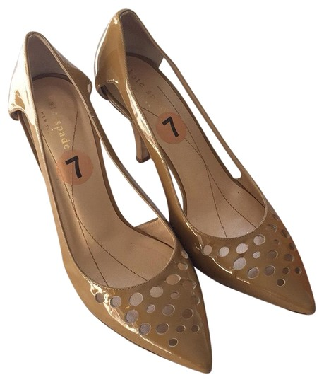 Preload https://img-static.tradesy.com/item/23244407/kate-spade-tan-heel-pumps-size-us-7-regular-m-b-0-1-540-540.jpg