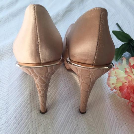 Hervé Leger pink Pumps