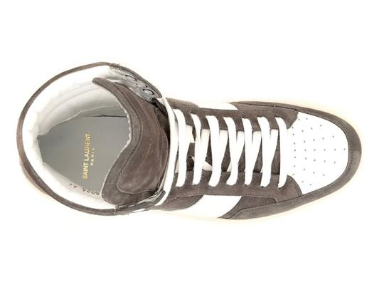 Saint Laurent High Top Grey Athletic
