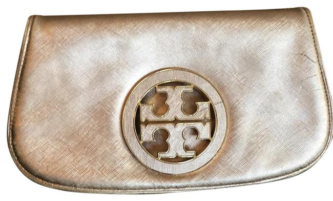 Item - Robinson Rose Gold Leather Clutch