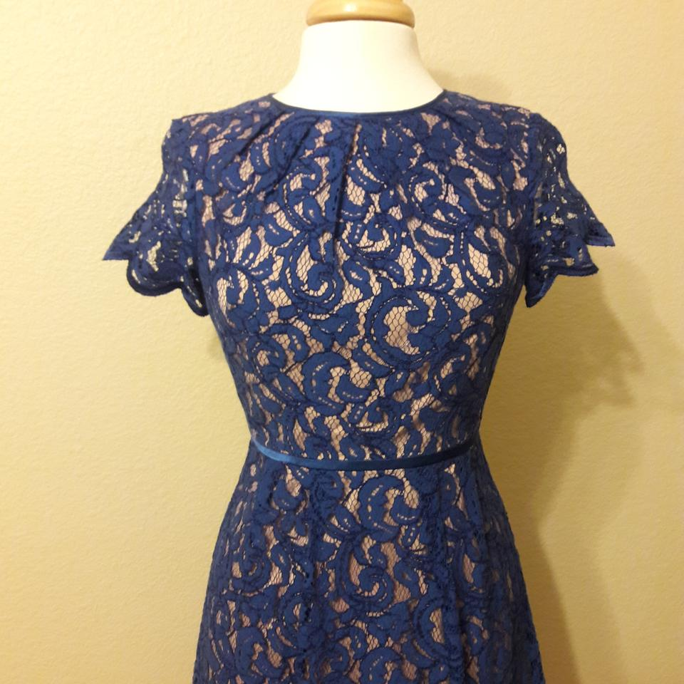 Adrianna Papell Royal Blue From Nordstrom / Rn#59782 Short Cocktail ...